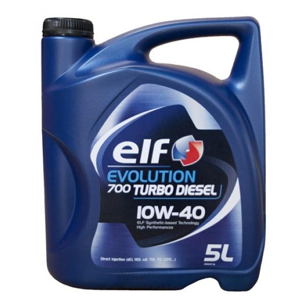 ELF EVOLUTION 700 Turbo Diesel  10W-40  (5л)
