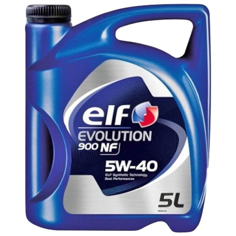 ELF EVOLUTION 900 NF  5W40  (5л)