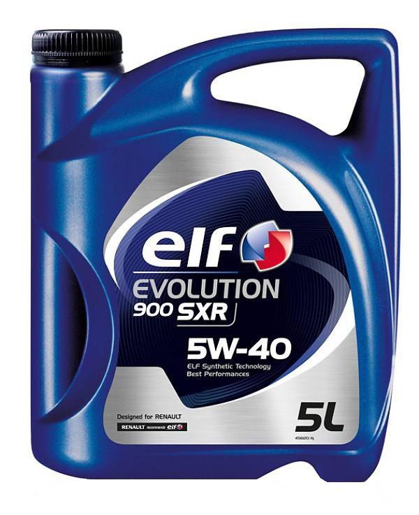 ELF EVOLUTION 900 SXR  5W40  (5л)